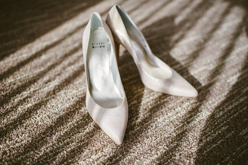 Wedding Shoes Vancouver and Destination wedding photography