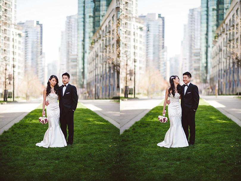 coal harbour wedding photographers vancouver