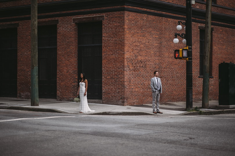 Artistic wedding photography in Vancouver