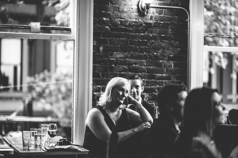 Vintage black and white wedding photographers in Vancouver