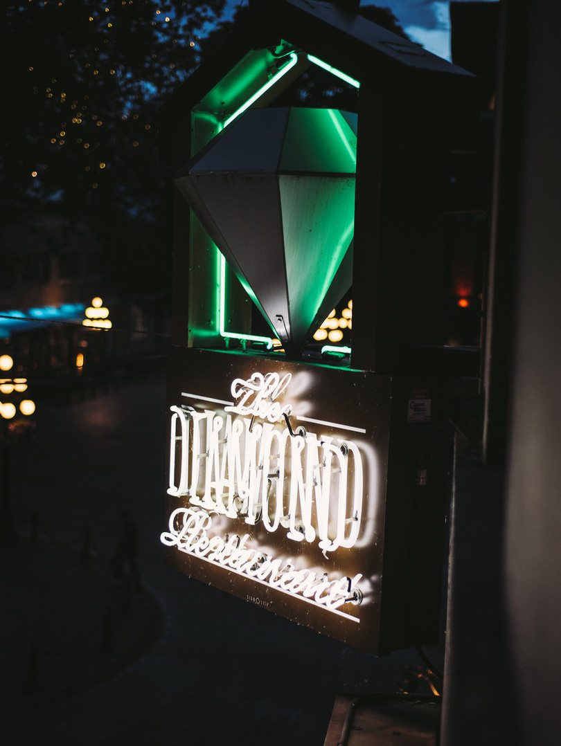 The Diamond in Gastown British Columbia Canada