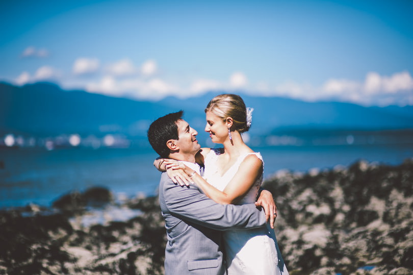 Wedding photography on beach