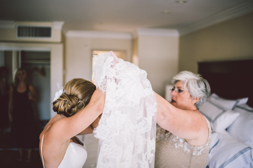 Granville Island hotel wedding
