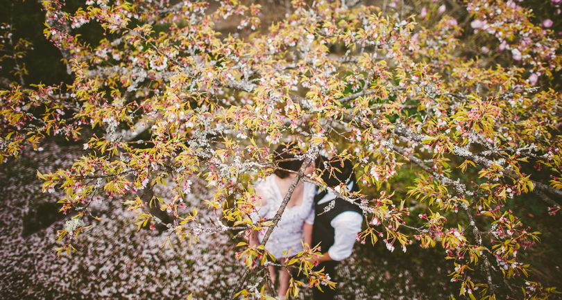 springtime wedding in Vancouver British Columbia