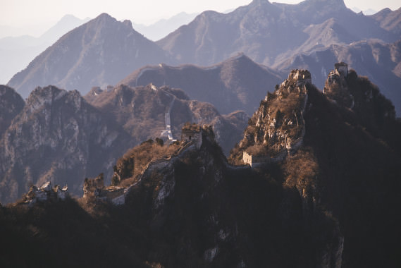 Destination Wedding Photographers // The Great Wall of China
