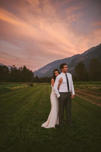 Rustic Bohemian Pemberton Wedding Photography