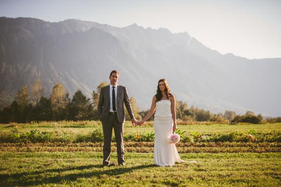 Rustic Bohemian Pemberton Wedding - Mike & Sarah