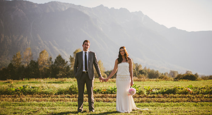 Rustic Bohemian Pemberton Wedding // Mike & Sarah