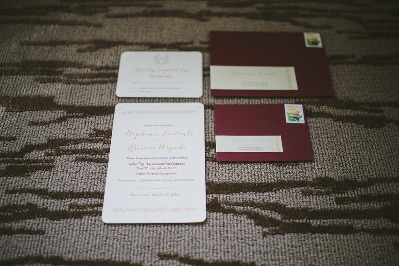 Vancouver Wedding Invitations