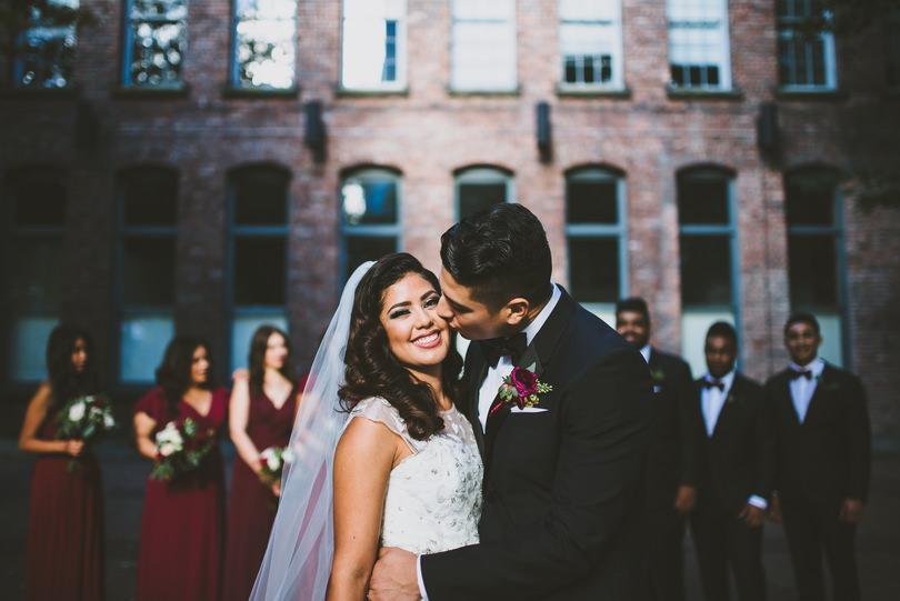 Yaletown wedding photographers