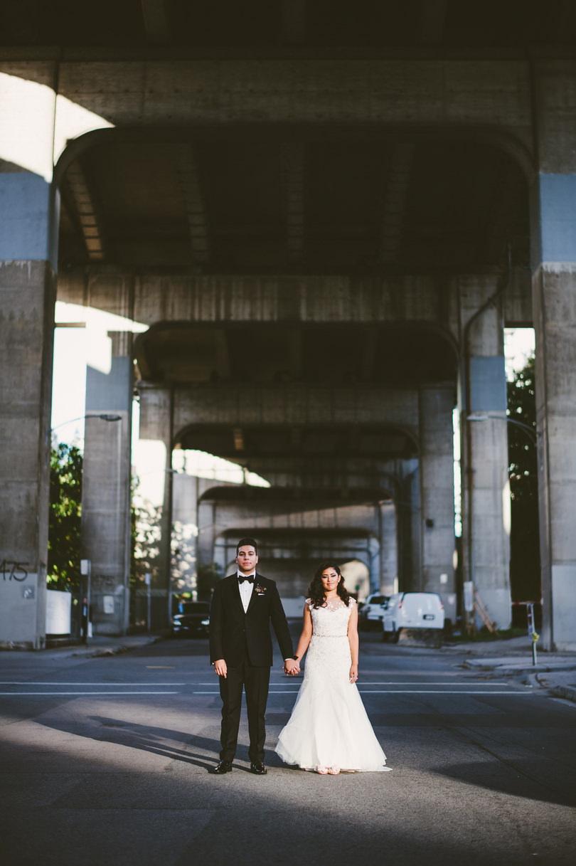 downtown vancouver unique wedding photographers
