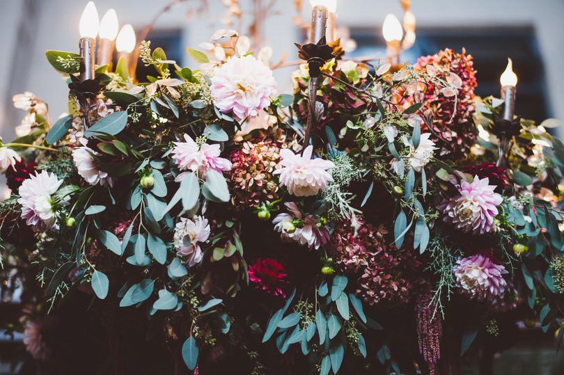Unique wedding flower arrangements vancouver
