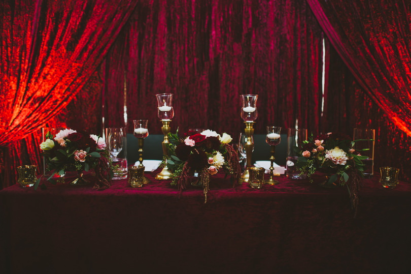 colour of the year wedding
