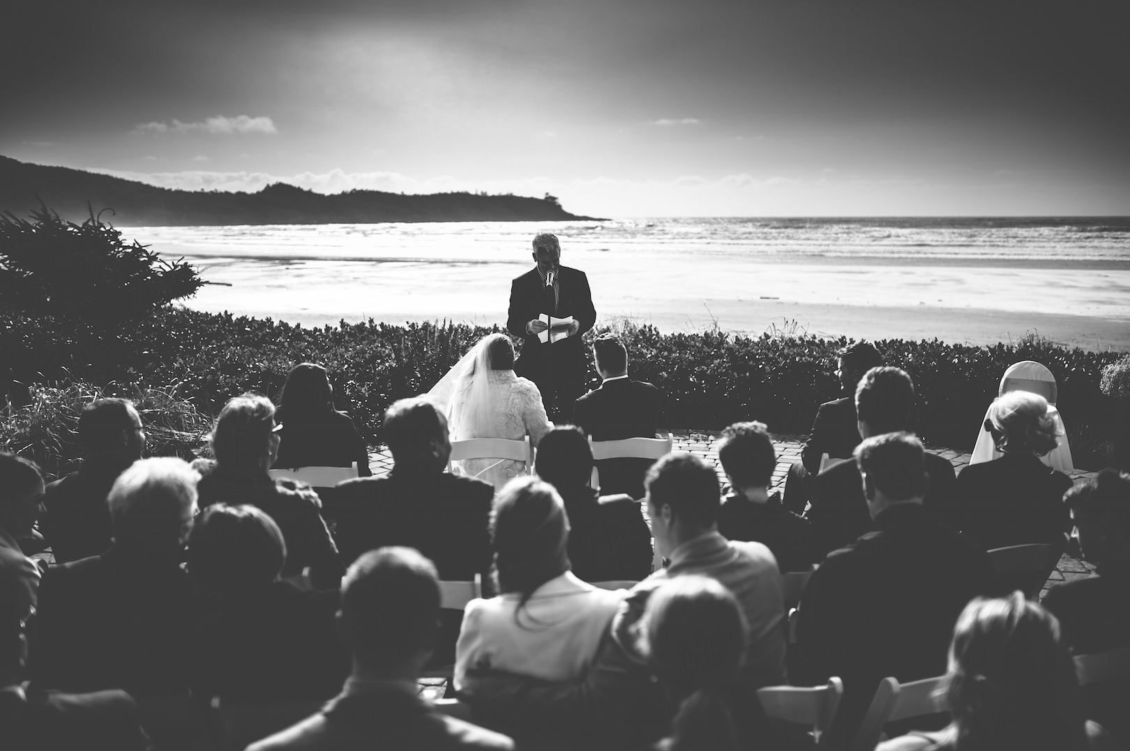 Long beach lodge Tofino wedding