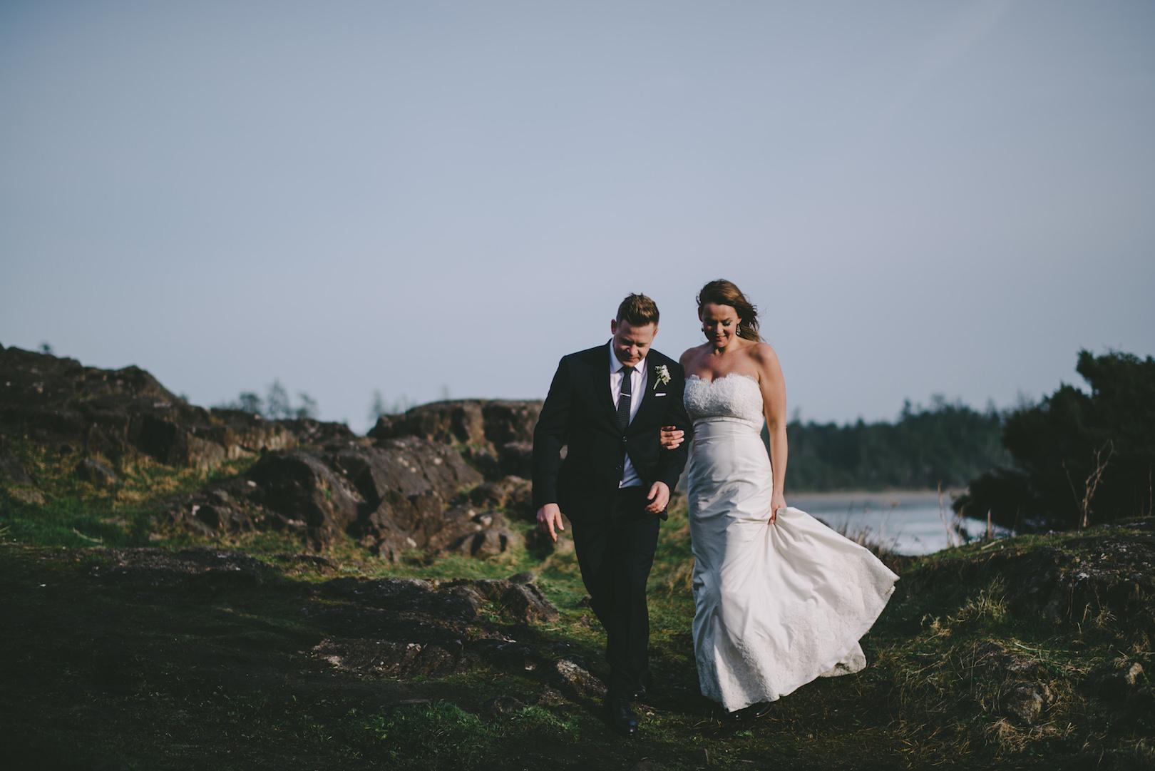 Documentary Tofino wedding photographers