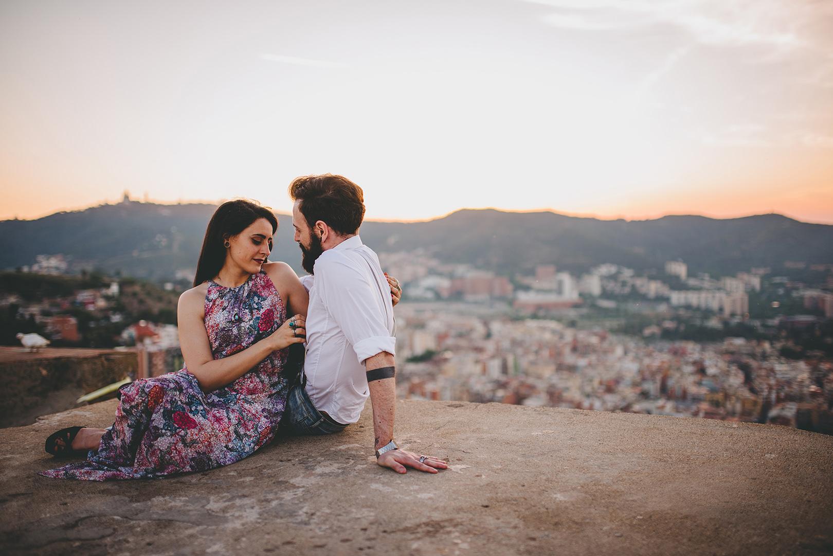 Barcelona couple photography