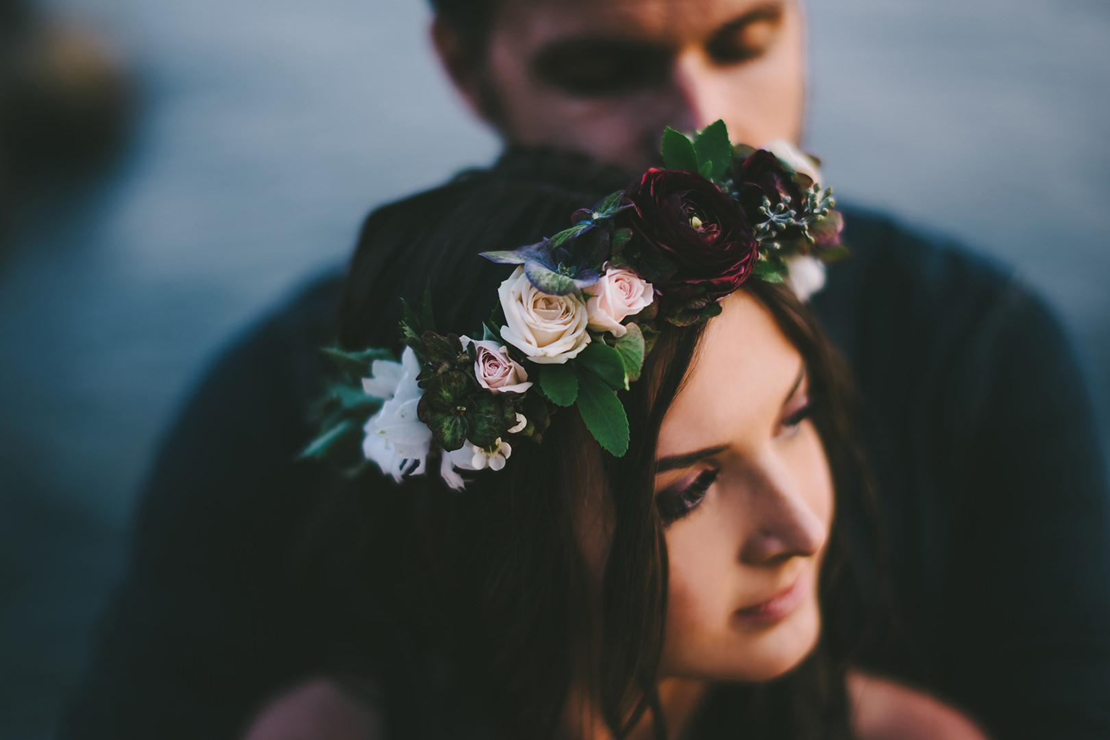 bohemian flower crowns Vancouver