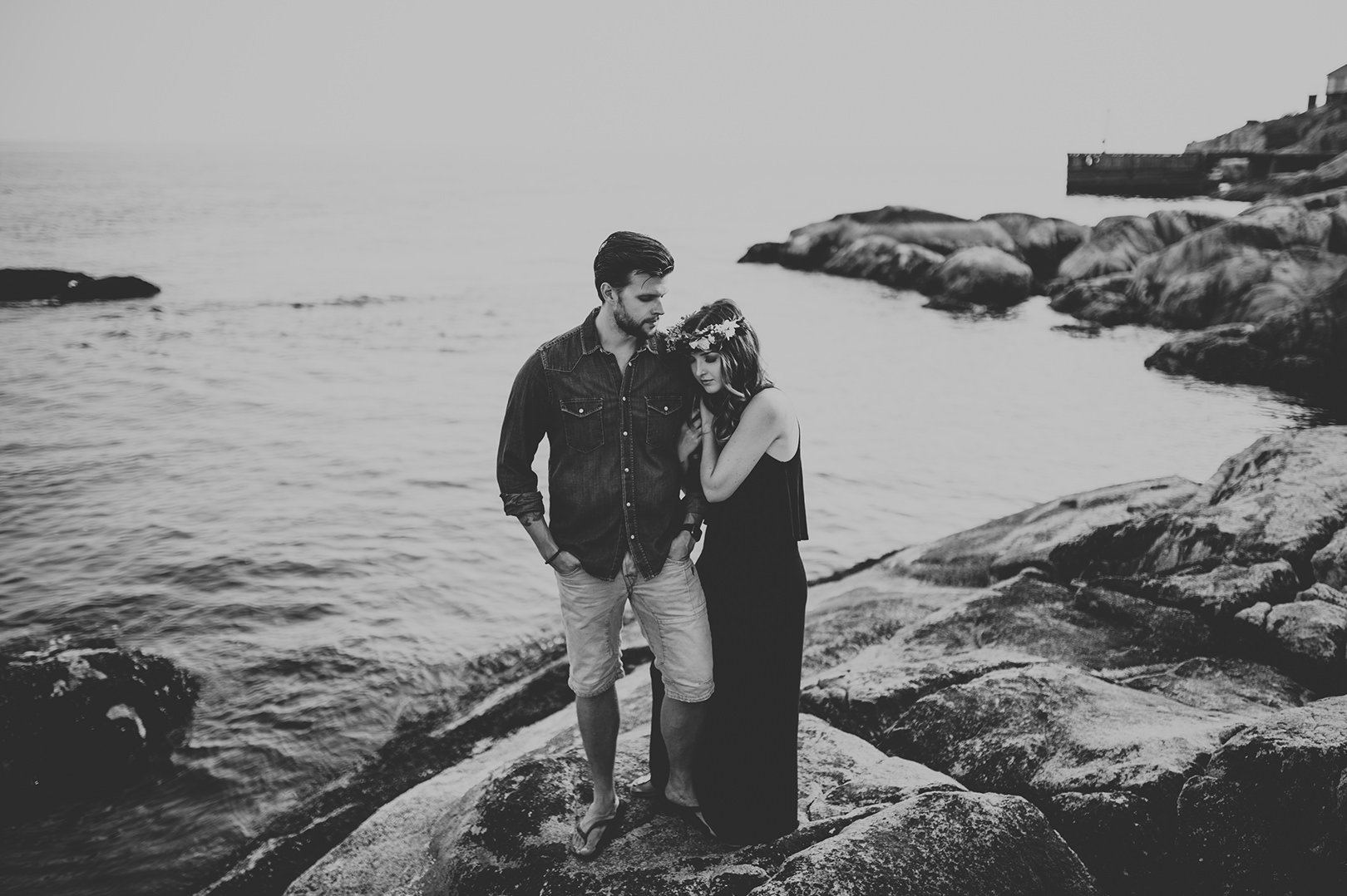 unique locations for an engagement session near Vancouver