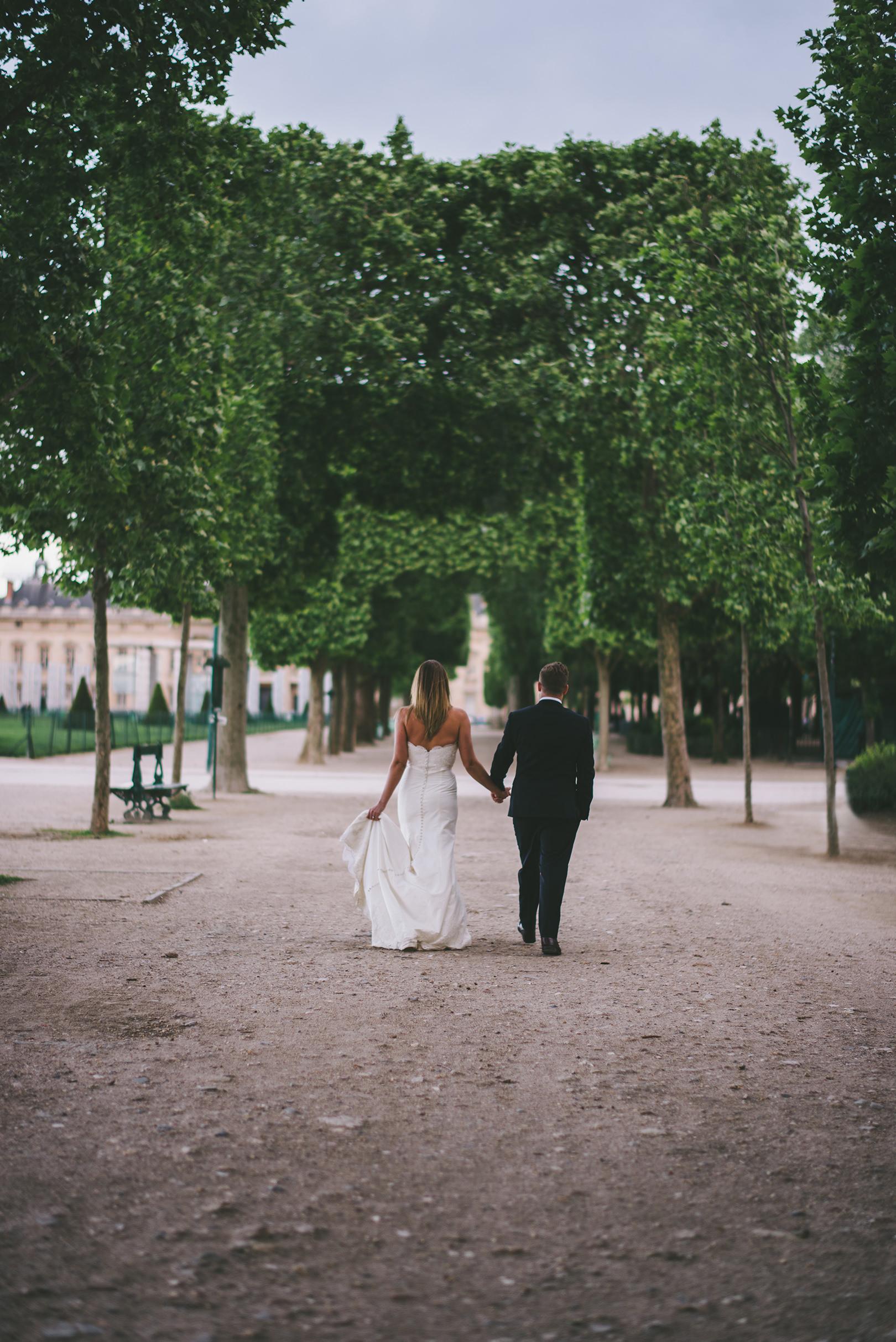 Eiffel tower Wedding photography