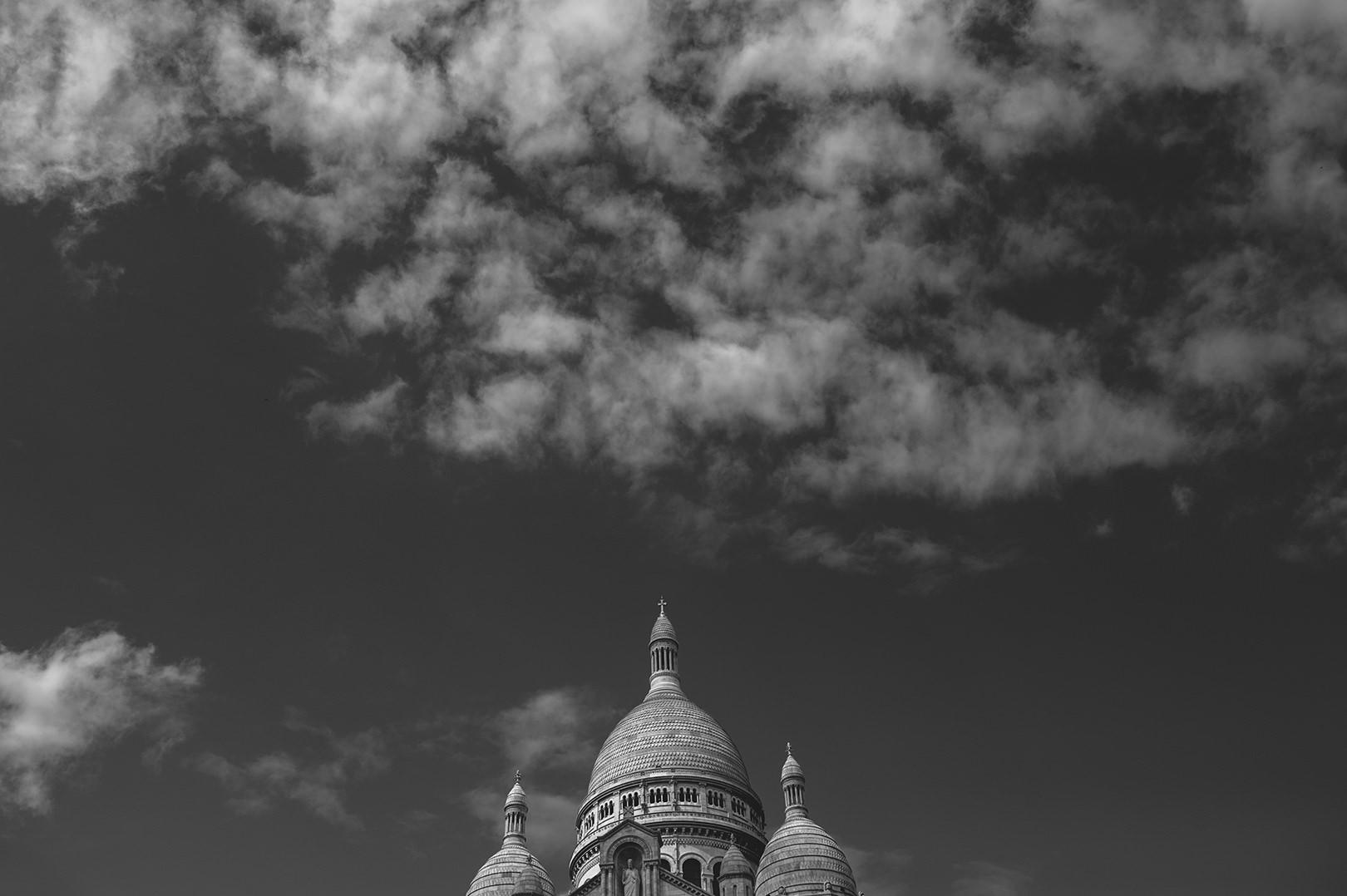 Sacre Coeur Paris wedding photographers