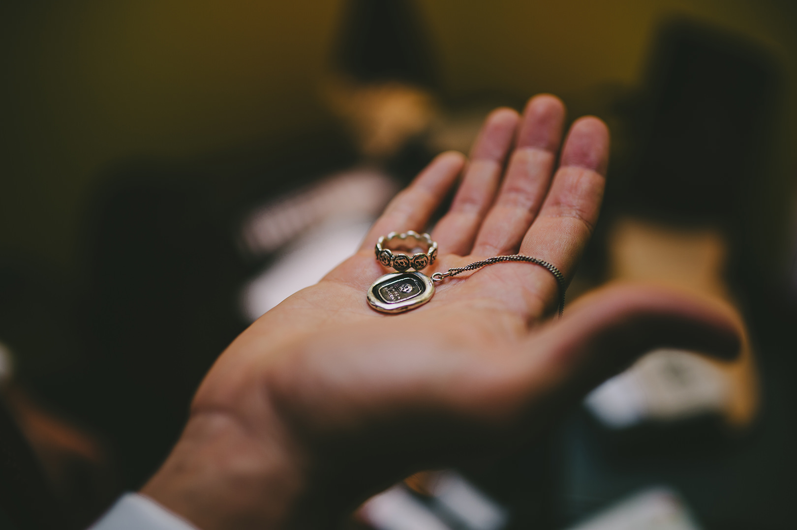 unique wedding jewelry skulls