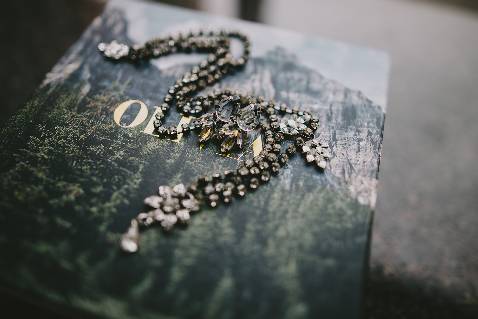Olivia and the wolf wedding jewelry