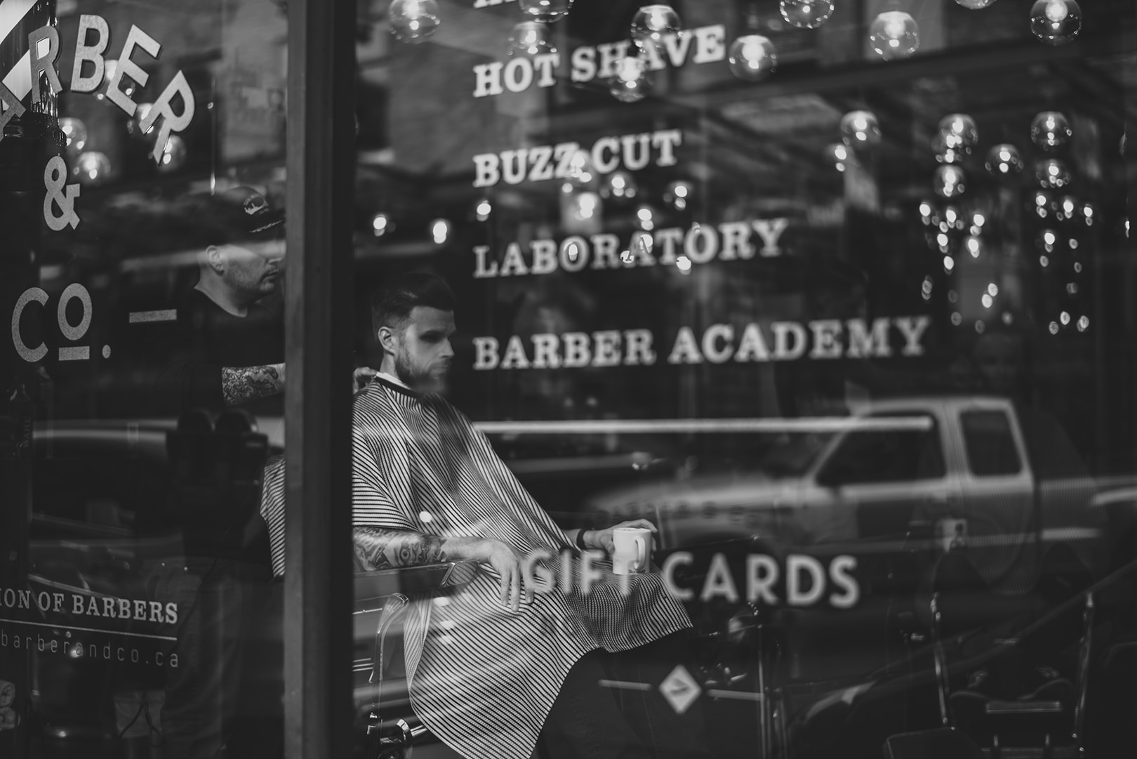 Barber & Co. grooms