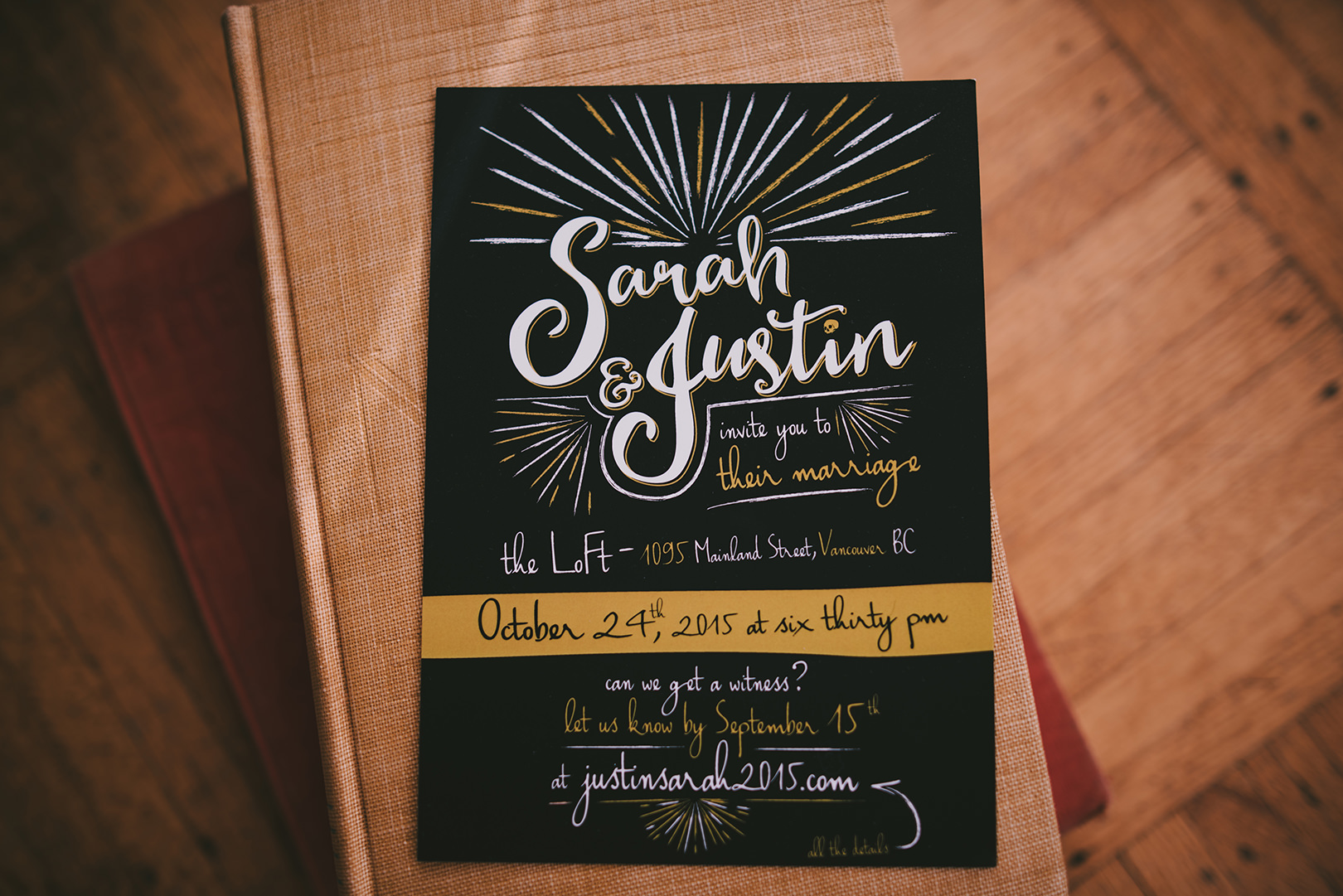 unique wedding invites