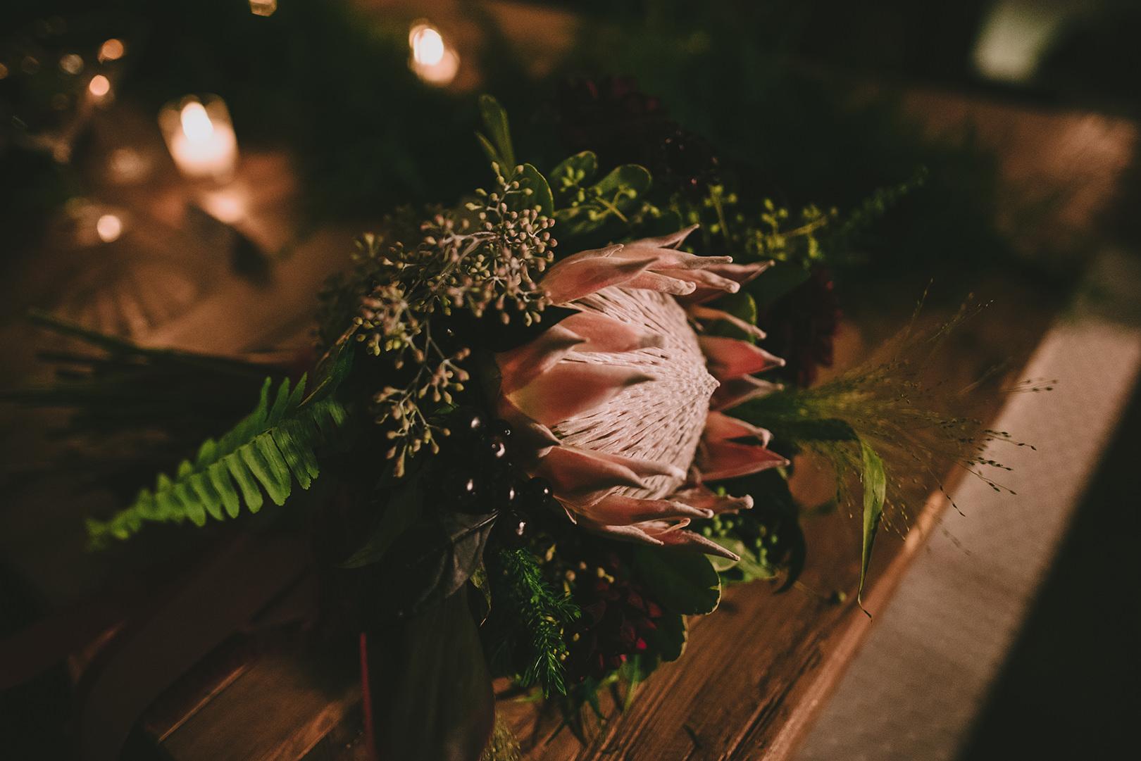 unique Bohemian wedding bouquets