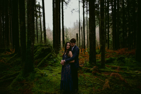 James & Beatrice // Pacific Northwest Engagement