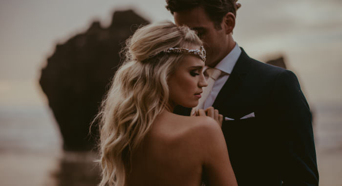 Kasse and Dylan // Cannon Beach Elopement