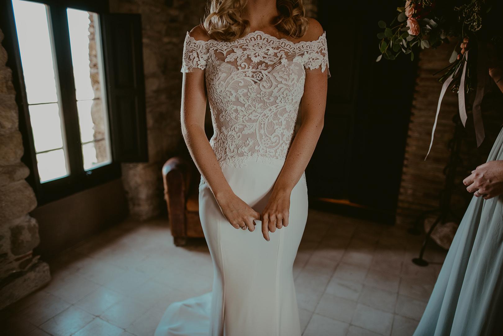 Beautiful Spanish wedding dresses