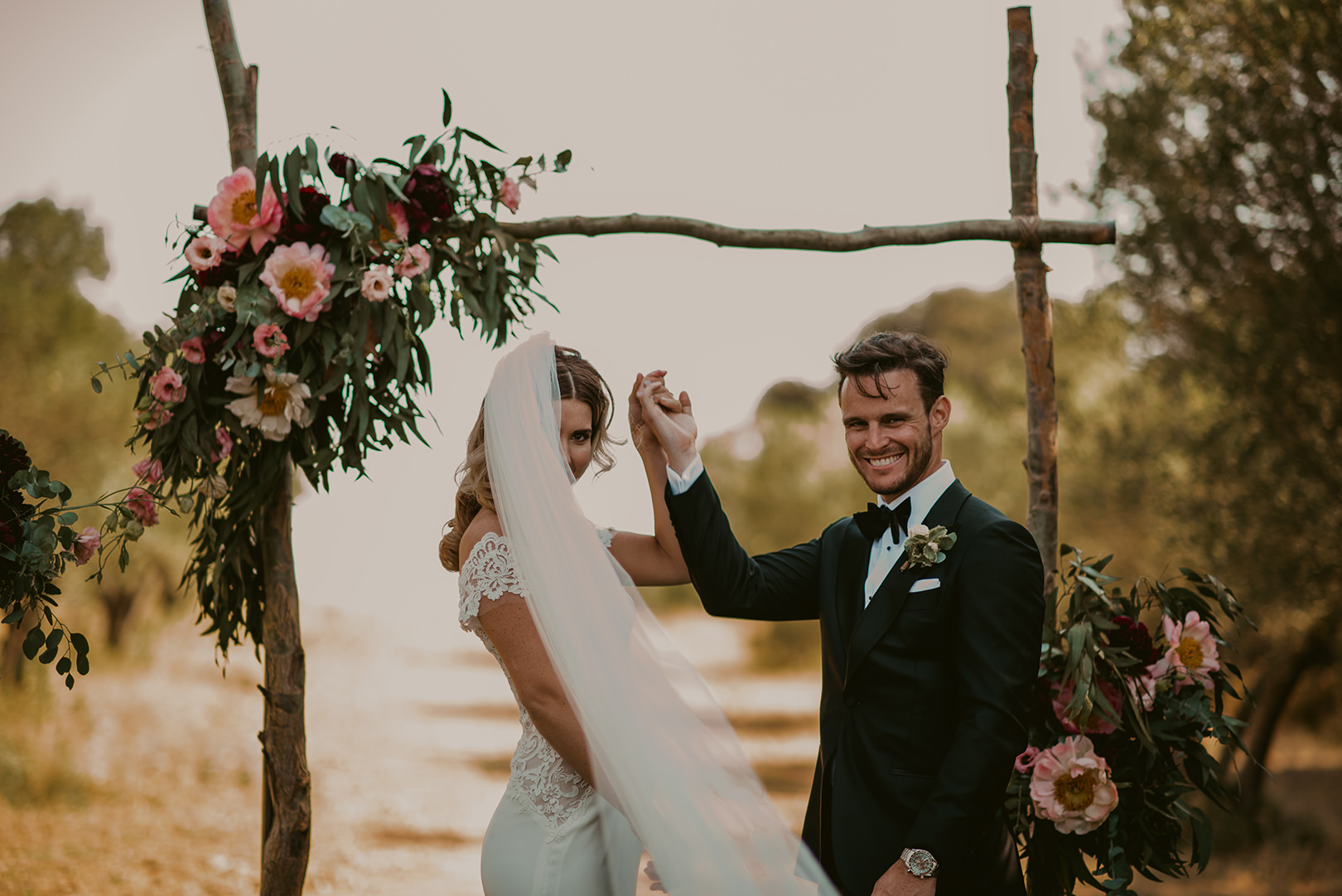Australian wedding in Girona Spain