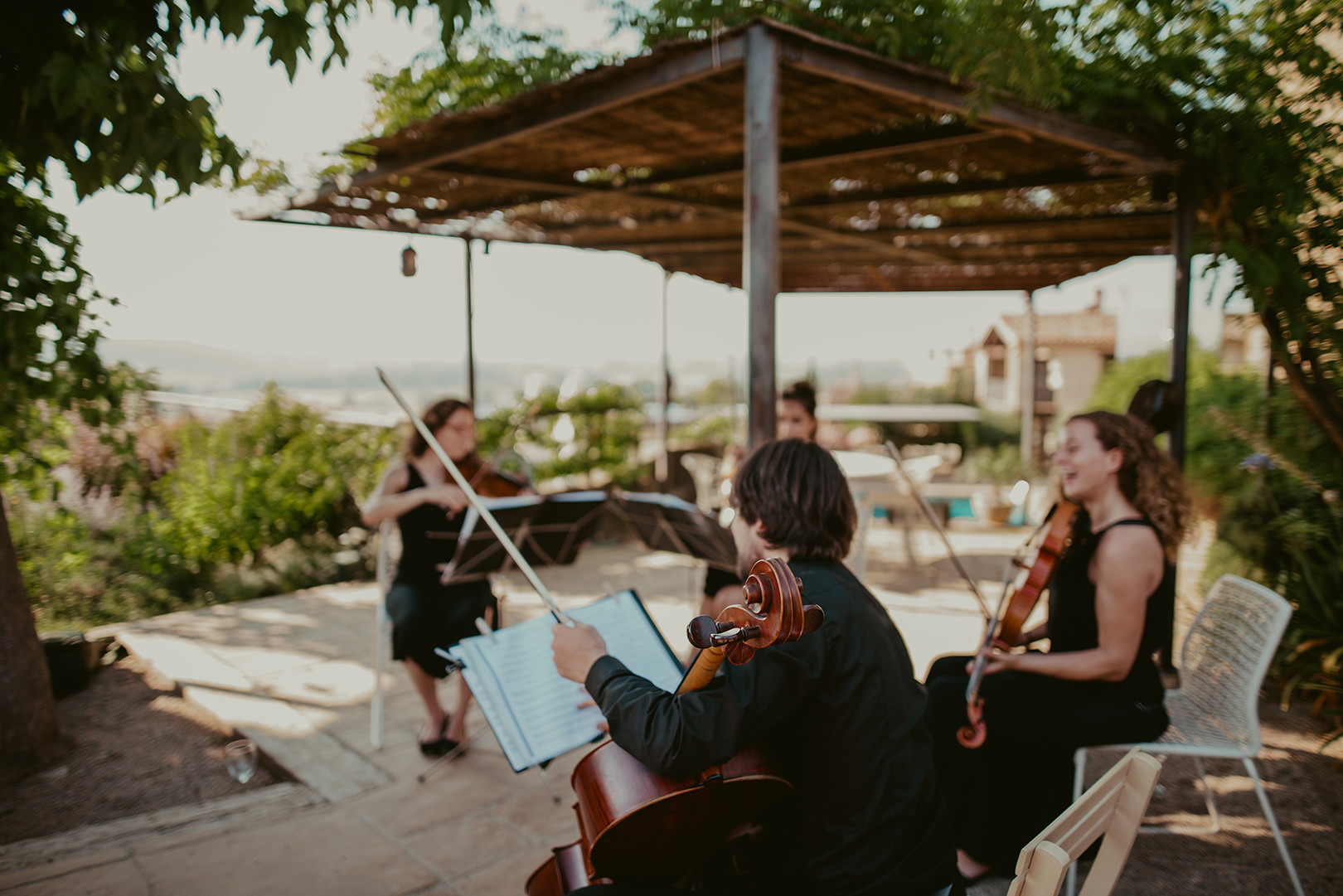 Wedding music in Girona Spain