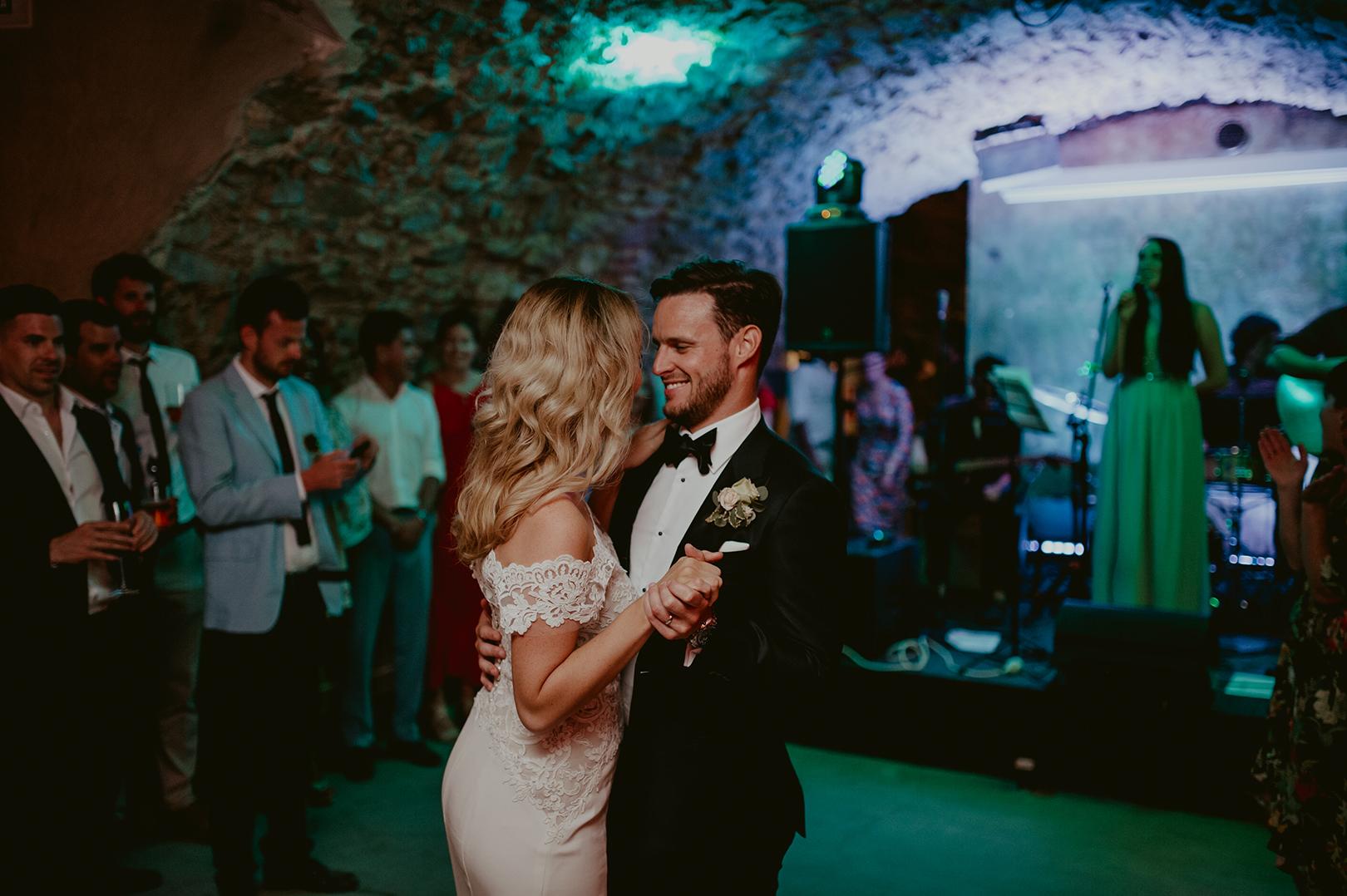 Wedding celebration at Castell d'Emporda in Girona