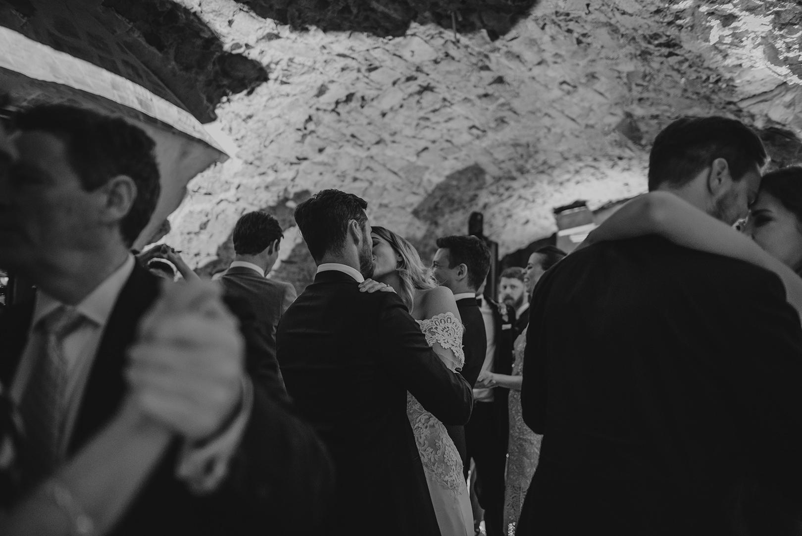 Fun wedding celebration in Girona Spain