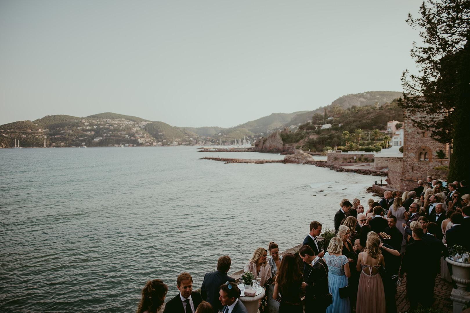Wedding photography at Chateau de la Napoule