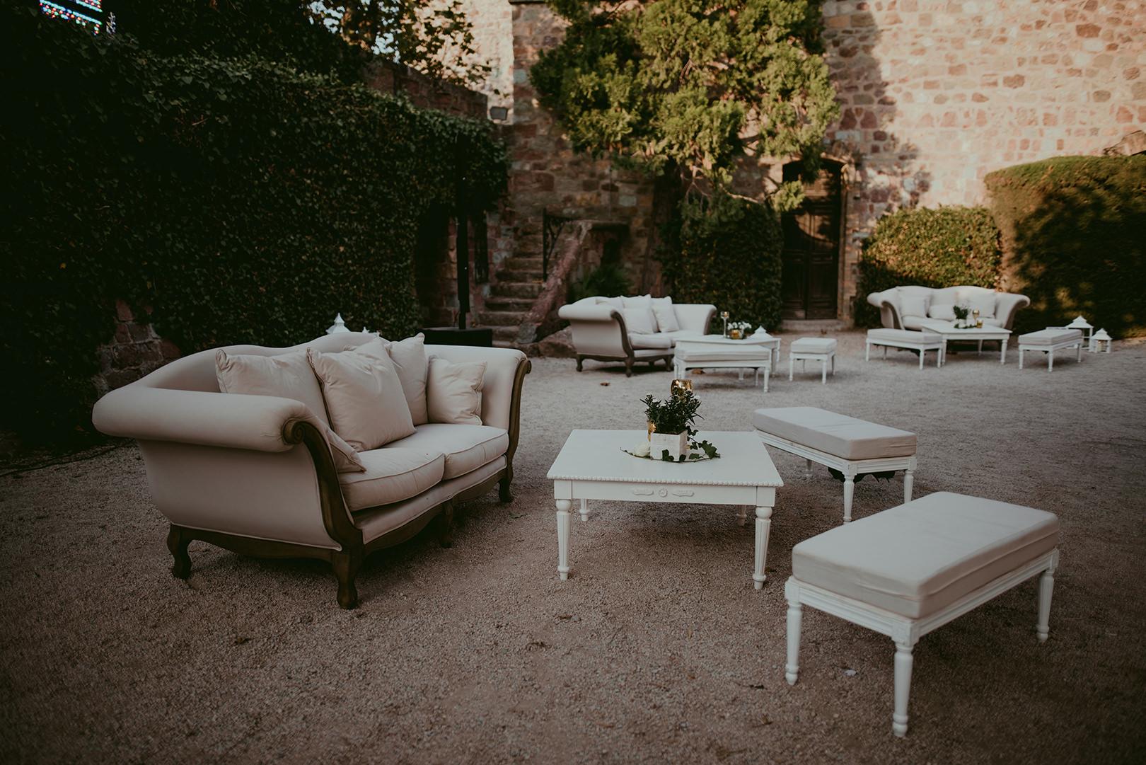 Best wedding setup at Chateau de la Napoule