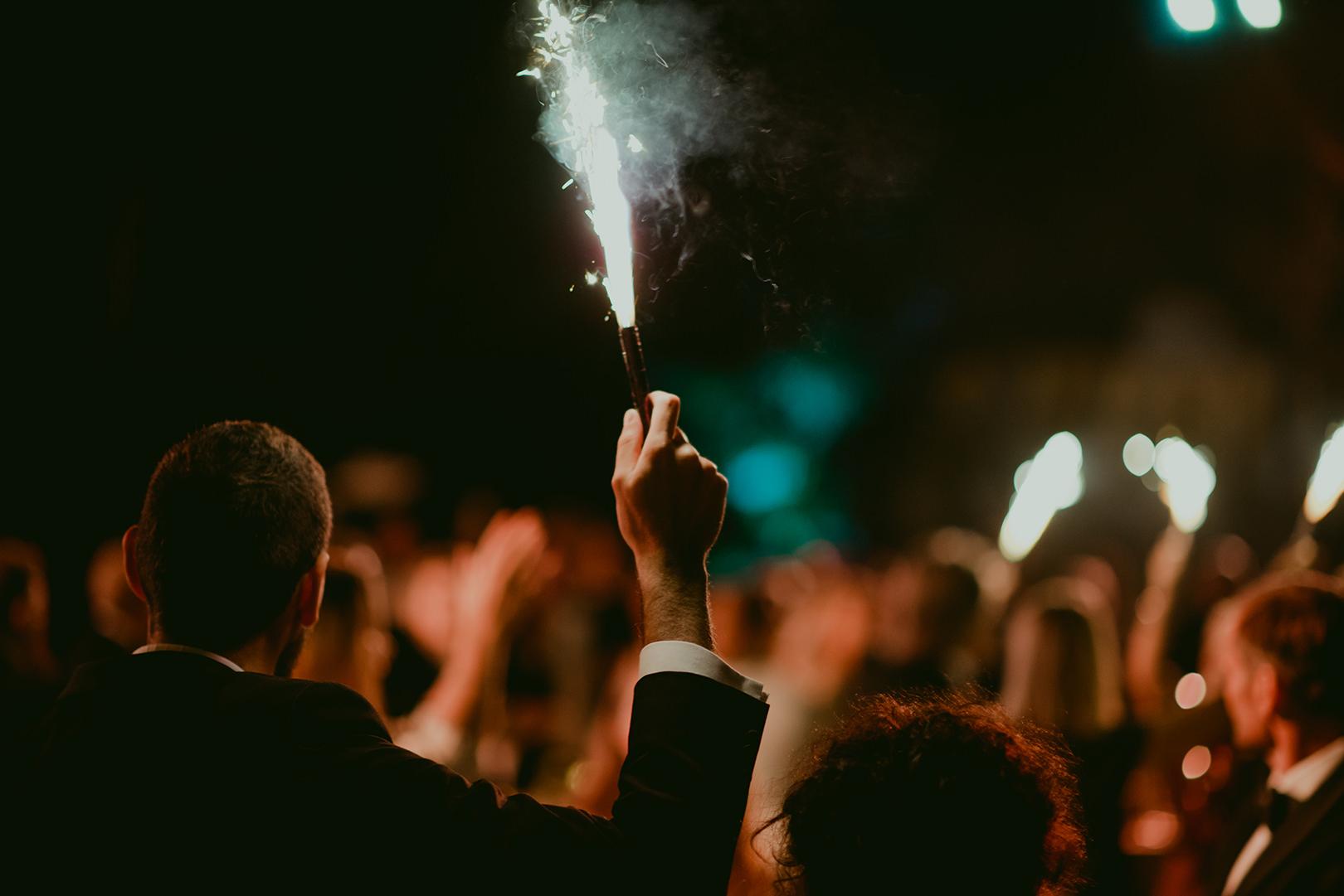Wedding celebration at Chateau de la Napoule in Cannes