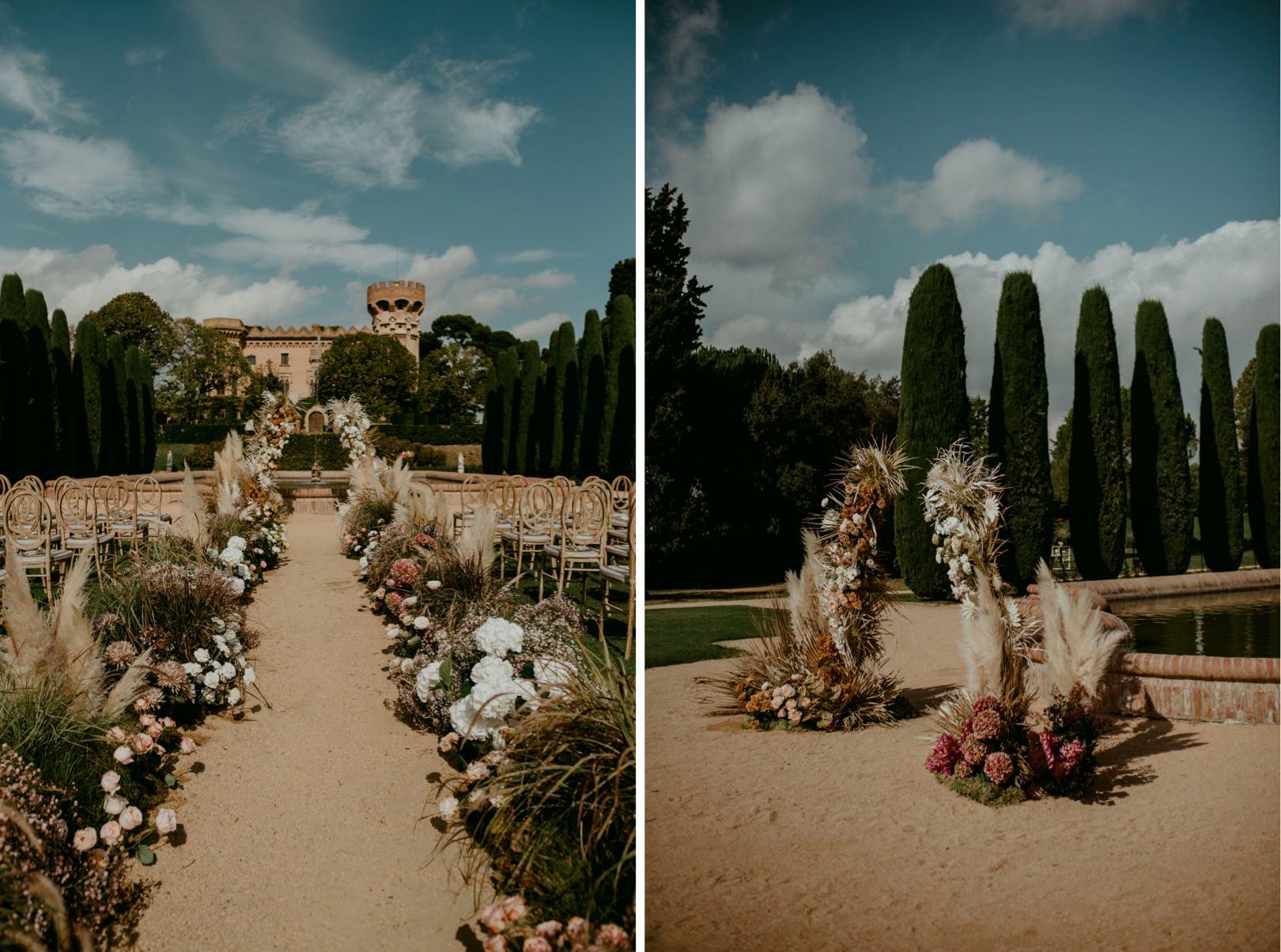 Artistic Barcelona wedding planner