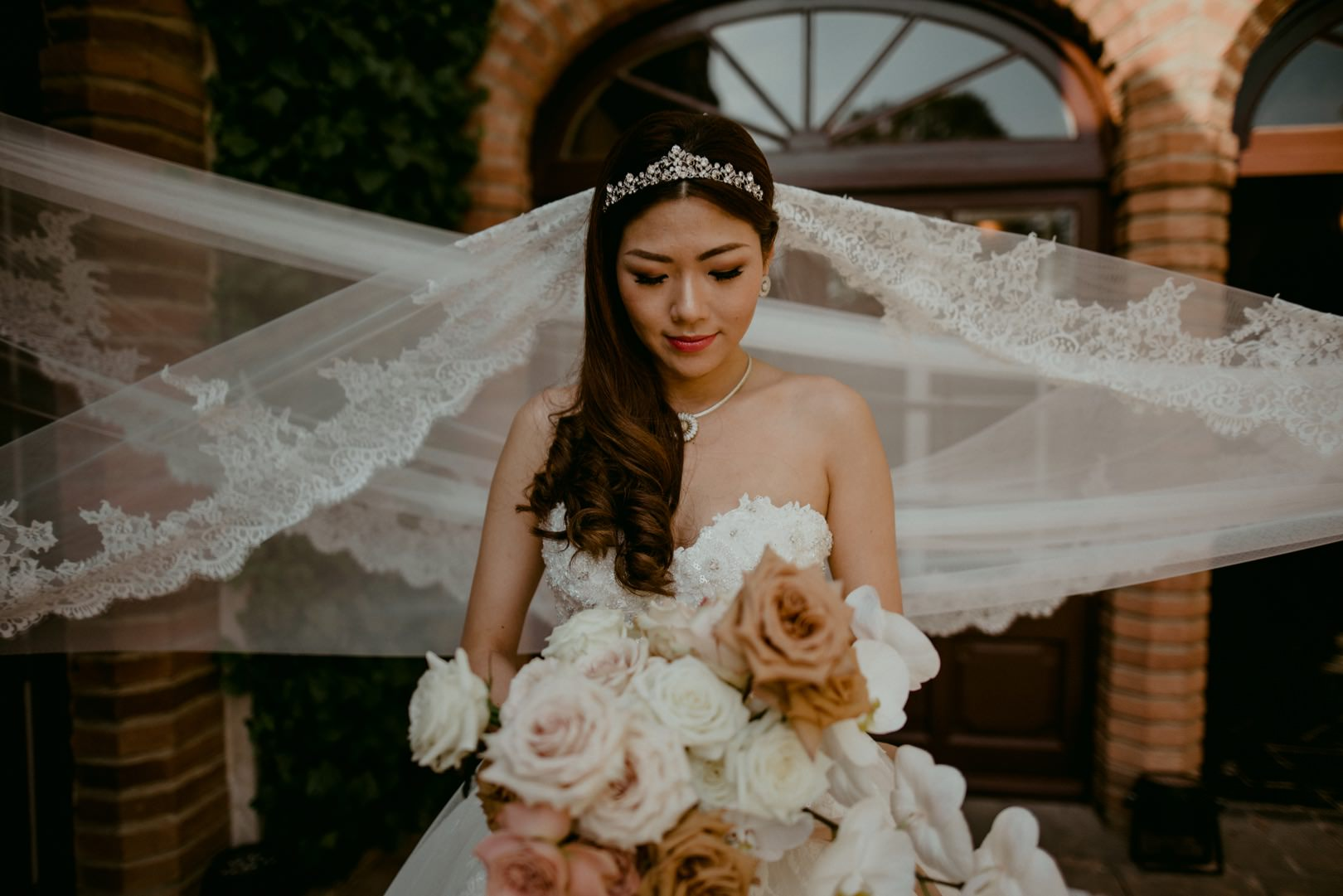 Gorgeous bridal photography by Dallas and Sabrina