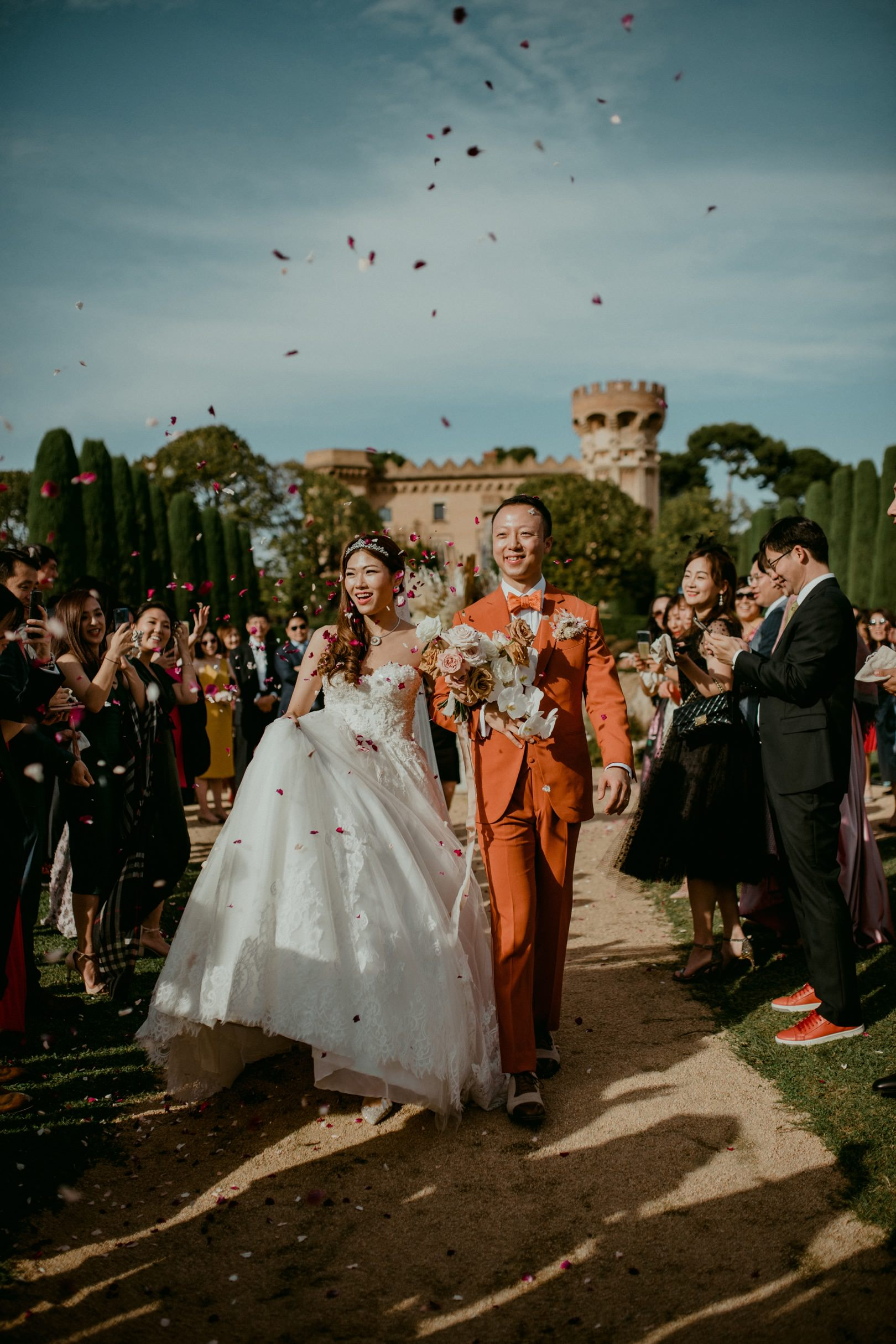Photojournalistic wedding photographer in Barcelona Spain