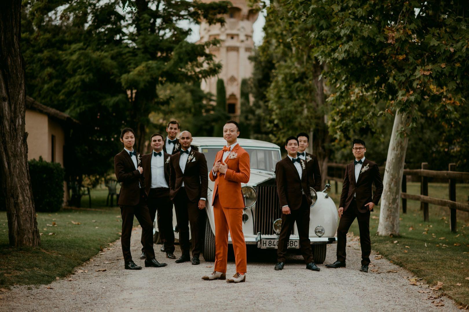 Exclusive wedding photographer in Spain