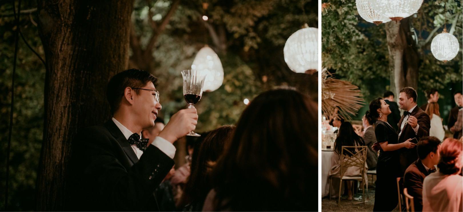Gatsby wedding reception