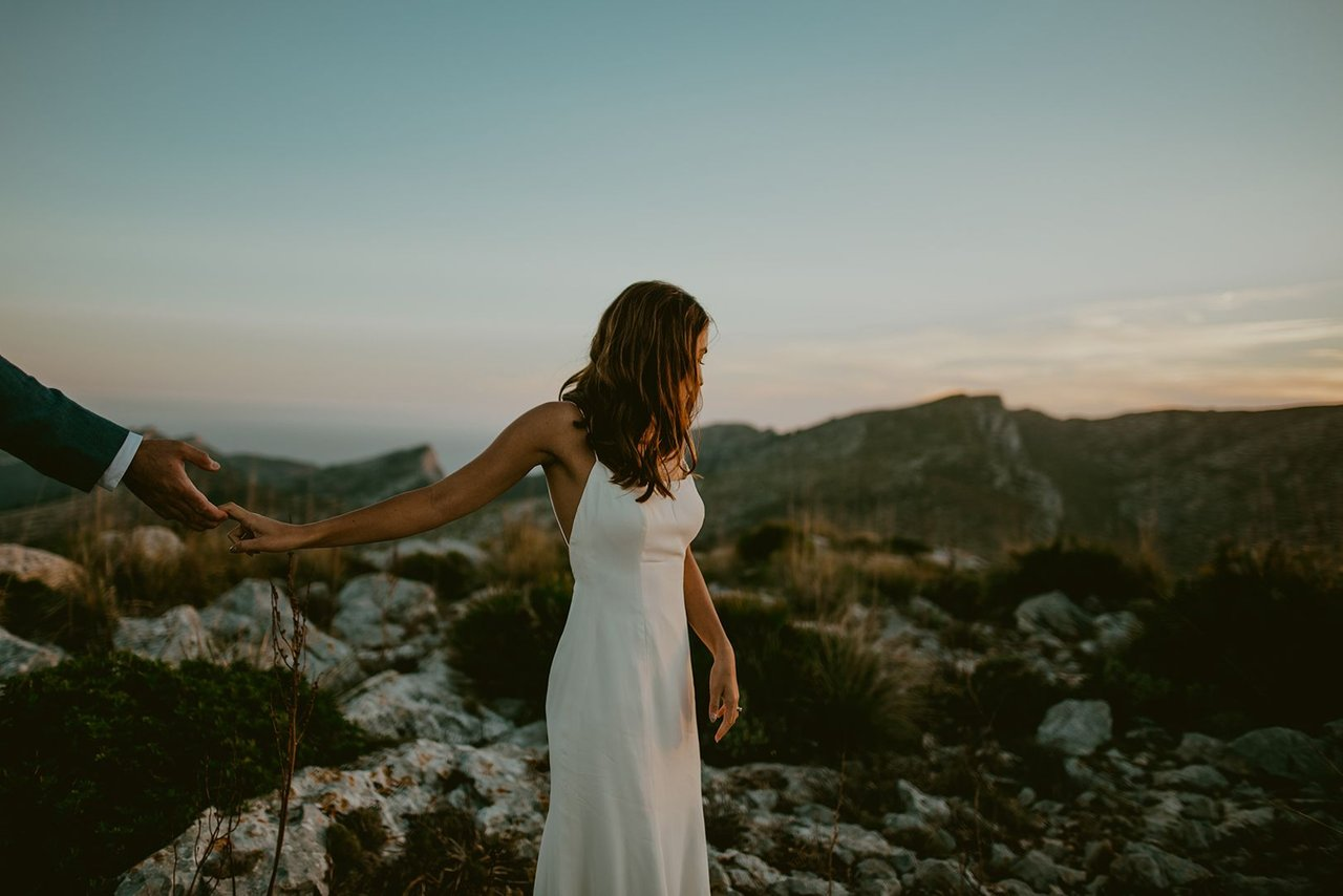 post covid wedding elopement photography in mallorca